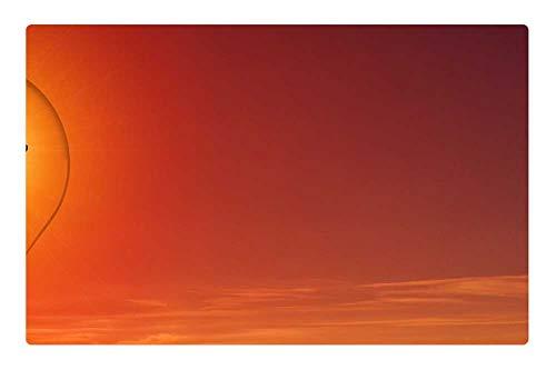 (Indoor Floor Rug/Mat (23.6 x 15.7 Inch) - Energy Turn Pear Energy Revolution Light Bulb Sun 2 )