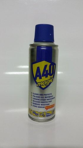 Akfix YA420 A40 Magic All Purpose Lubricant and Rust Remover, 6.76 fl. oz. Aerosol Can, 200 mL (Pack of 24) by Akfix