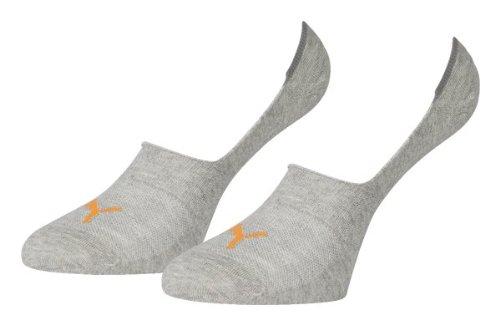Pack 2 Socks Heather Puma Grey Light Footie q7U1E1