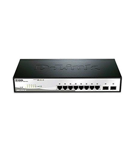 D-Link DGS-1210-10P Web Smart Switch - 10 Ports - Manageable