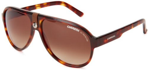 Carrera Ca32S Aviator Sunglasses,Blonde Havana Frame,Brown Gradient Lens,One - Carerra Glasses