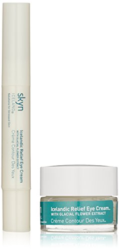skyn ICELAND Icelandic Relief Eye Cream and Icelandic Relief Eye Cream Pen Set Skyn Iceland Icelandic Relief