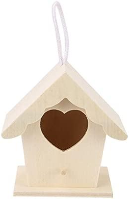TAOtTAO Caja de Madera para pájaros de la casa de pájaros Nest DOX ...