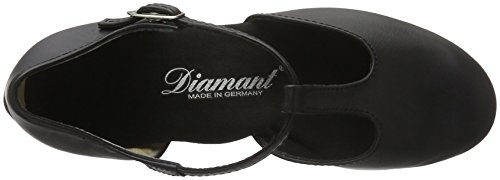 Diamant Womens 053-029-034 Zwart Leer