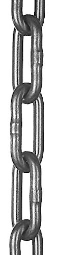 Laclede Chain 1636-512-04 2/0 Electro Galvanized Finish Straight Coil Chain