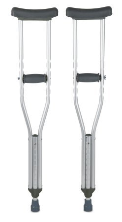 Pivit Lightweight Aluminum Underarm Crutches | Adult 5' 2