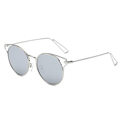 La de Ultravioleta para la Silver del Silver Cae polarizadas del operación Sol Metal Marco Frame Clara la Lente de Gafas Hombres UV400 Pesca Sakuldes los Lens la Lentes Puerta Silver Lens de Color Frame Silver dw4qO6dxa