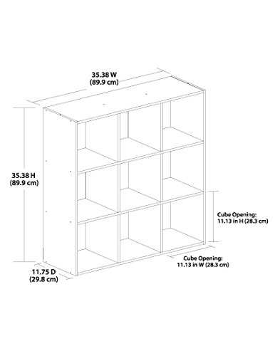 9 cube storage organizer - 9