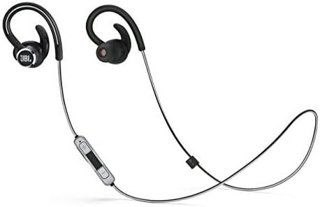 2de9f49d923 Amazon.com: JBL Lifestyle Reflect Contour 2 Sweatproof Wireless Sport  in-Ear Headphones - Black: Electronics