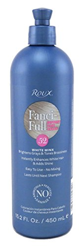 Roux Fanci Full Rinse - Roux Fanci-Full Rinse, 52 White Minx, 15.2 Fluid Ounce