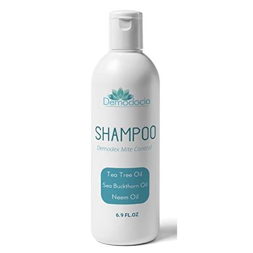 Demodocia Demodex Mite Shampoo Treatment Stops Severe Scalp Itching