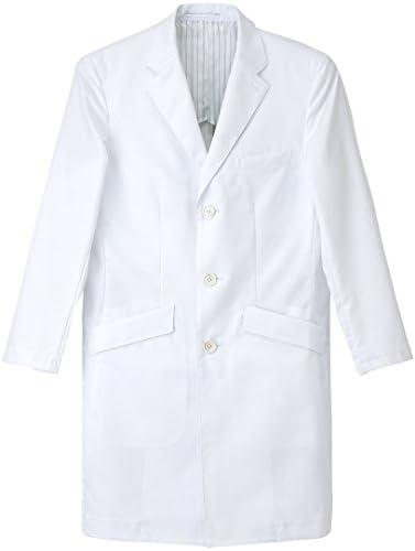 ナガイレーベン NAGAILEBEN  男子シングル診察衣 FD4000 LLサイズ ホワイト