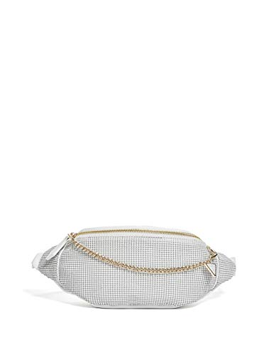 GUESS Factory Women's Kassidy Logo Chain Fanny Pack