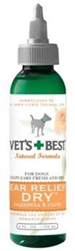 Vet's Best Dry Ear Relief for Dogs, 4-Ounce, My Pet Supplies