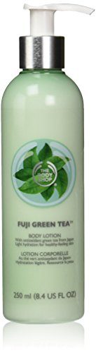 The Body Shop Fuji Body Lotion, Green Tea, 8.4 Fluid - Body Tea Green Works