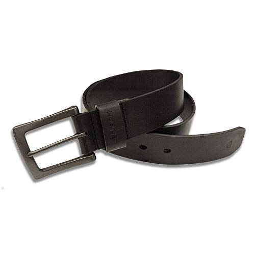 Carhartt Men's Signature Casual Belt, Anvil Black 44 from Carhartt