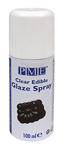 Dark Chocolate Glaze - PME Edible Glaze Spray, 3.3 Ounce