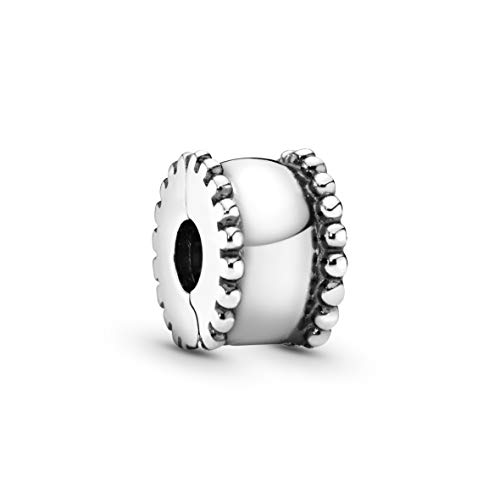 Pandora Jewelry - Beveled Charm for Women in Sterling Silver