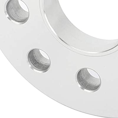ECCPP 5 lug Wheel Spacer Adapters 5x100 & 5x112 mm 2X 17mm fits for A3 A5 A6 A8 S3 S4 S6 S8 RS4 RS6 with 14x1.5 studs: Automotive