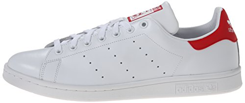 Chaussures Smith Stan Ftw Homme Red running Adidas collegiate Blanc White qfEHUw