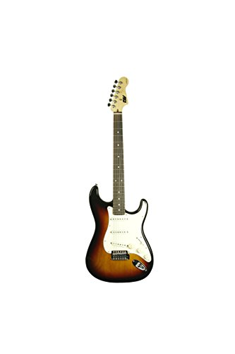 ivy IS-100 SB Strat Solid-Body Electric Guitar, Sunburst
