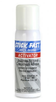 Aerosol Activator for Stick Fast Glue, 4 Ounce