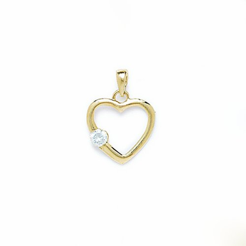 14 k or Coeur Amour P73