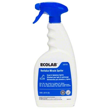 Ecolab Revitalize Miracle Carpet & Upholstery Spotter - 22 FL OZ Spray Bottle
