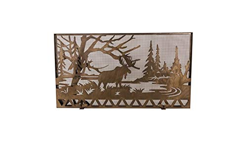 63 in. Moose Creek Fireplace Screen