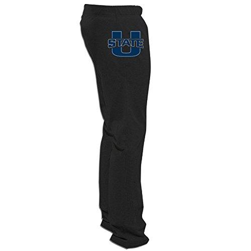 e University Aggies Pants for Men Black Size XXL ()