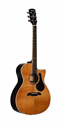 Alvarez Artist Series AG75CE Grand Auditorium Acoustic-Electric Guitar, from Alvarez