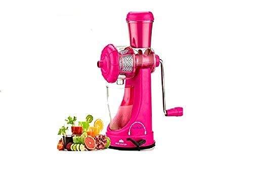 BMS Lifestyle SMART Fruits  amp; Vegetable Juicer With Waste Collector Pink