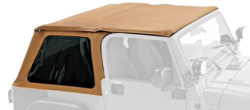 Pavement Ends by Bestop 56840-37 Spice Frameless Sprint Top for Jeep Wrangler for 1997-2006 Jeep ()