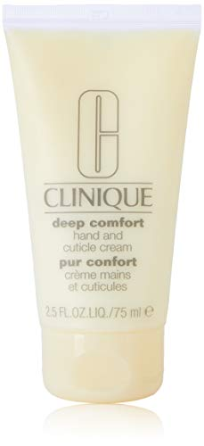 Clinique Deep Comfort Hand & Cuticle Cream, 2.5 Ounce (Best Hand Cream For Cuticles)