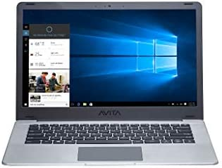 AVITA 14″ Pura [CN6Q14] AMD A9 8GB RAM 128GB SSD IPS 1920 x 1080 HD Screen Windows 10 Laptop for Online Class (Silver Grey)