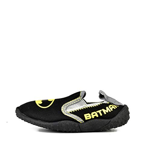 DC Comics Batman Slip On Water Shoe Black (Little Kid, Size 13/1)