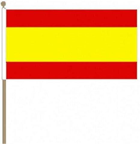 Flagmania Bandera de España sin Escudo (9