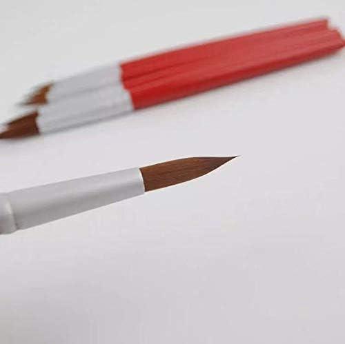 XDT#378 Round Tip Mop Artist Paint Art Brush PremiumNylon 6pc Acrylic Watercolor