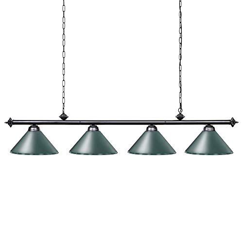 - Wellmet 70 Inch Island Light, 4-Light Vintage Industrial Retro Kitchen Island Counter Pendant with Metal Shades, Perfect for Men's Cave, Kitchen, Dinning Room, Bar