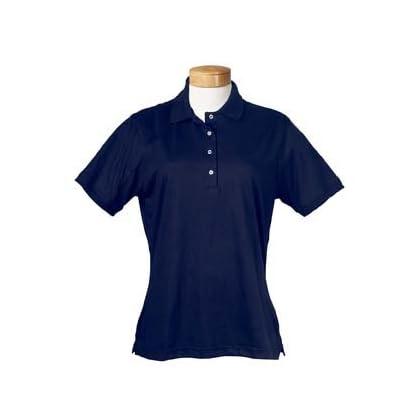 aa647dee Jerzees-Ladies' 5.6 oz., 50/50 Jersey Polo with SpotShield~True Navy~Womens -XL