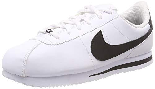 Nike 904764-102: Kids Cortez Basic SL White/Black Sneakers (4 M US Big Kid)
