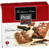 ProtiDiet High Protein Chocolate Dream Bar 7.4 oz (7 bars) by Protidiet