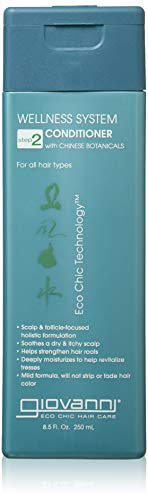 Giovanni Wellness System Conditioner, 8.5 Fluid Ounce (Giovanni Wellness System Conditioner With Chinese Botanicals)