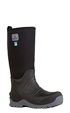 Amazon.com | Kamik Men's Barrel Rain Boots & Toe Warmers