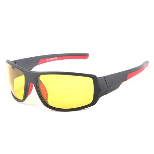 a6a4c4fb37 MOTELAN Yellow Lens Night Vision Polarized Driving Goggles - Professional  Sports Fishing Hunting Glasses Reduce Glare Black Frame - Buy Online in  Oman.