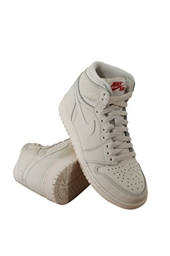 575441-114 GRADE SCHOOL AIR 1 RETRO HIGH OG BG JORDAN SAIL UNIVERSITY RED (Jordan 1 Retro)