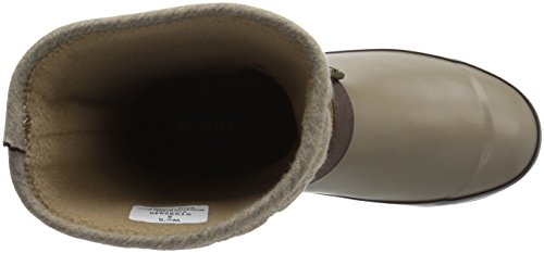 Sperry Top-Sider Womens Walker Fog Rope Rain Boot Taupe 6y3yP