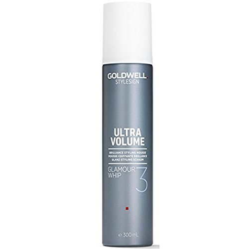 Goldwell Style Sign 3 Glamour Whip Brilliance Styling Mousse for Unisex, 300ml