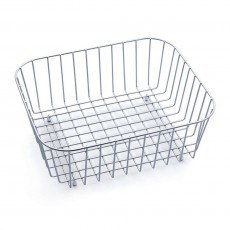 (STAINLESS STEEL CROCKERY DISH RINSE RACK BASKET)