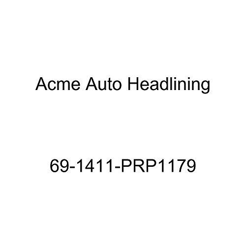 (Acme Auto Headlining 69-1411-PRP1179 Black Replacement Headliner (1969 Chevy Impala 2 Door Sport and Super Sport Hardtop Fastback (5 Bow)))